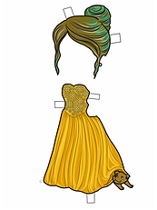PROM YELLOW COLORED