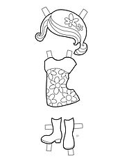 COLORING PROJECT DRESS 1