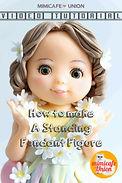 How to make a standing fondant figure