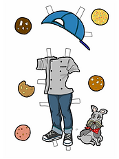 CHEF JACKET OUTFIT