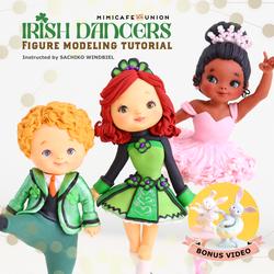 Irish Dancer Tutorial Cover (Square)