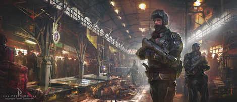 pawel cyberpunk market