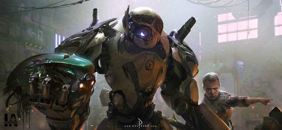 IA heritage drone war
