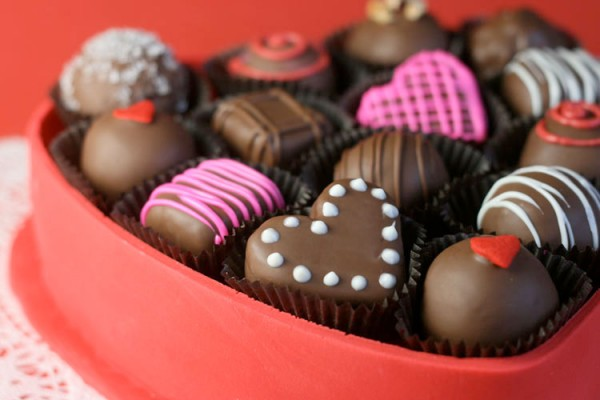 Valentine Chocolate Candy Class
