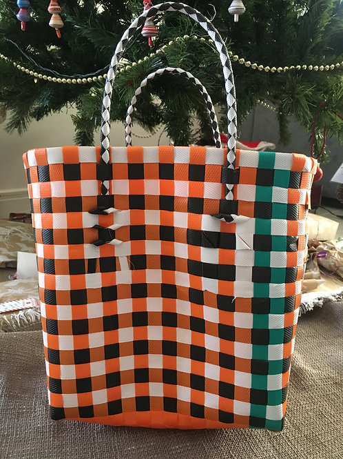 Small African shopping bag