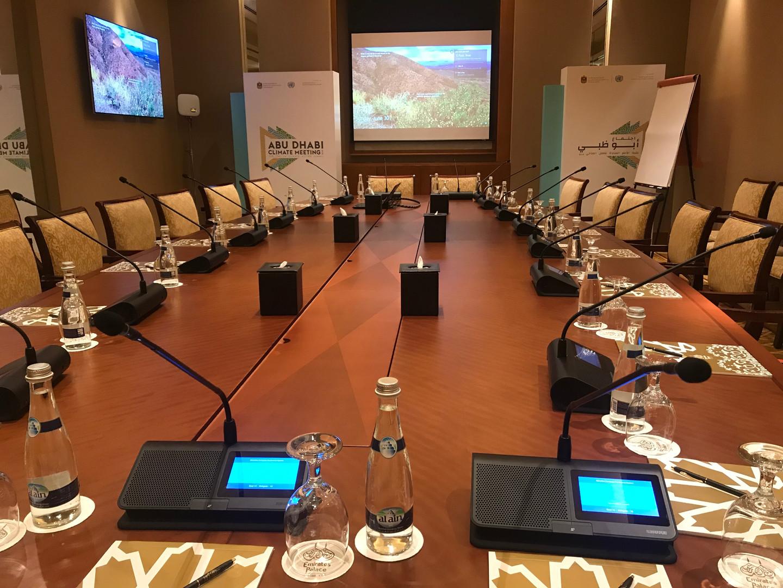 MXCW @ Abu Dhabi Climate Meeting