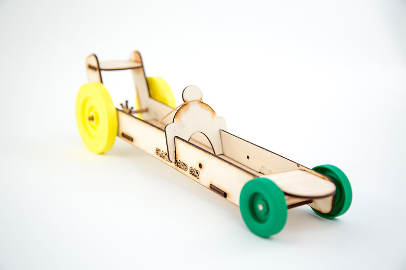Elastic Band Car