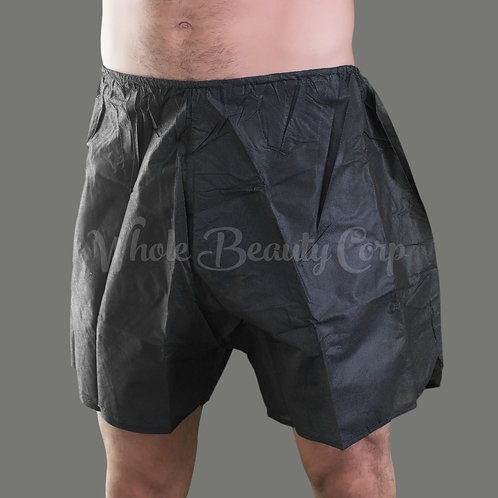 Men's Boxer Shorts w/side Opening 6/pack