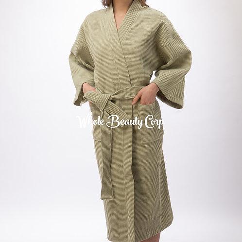 Waffle Weave Kimono