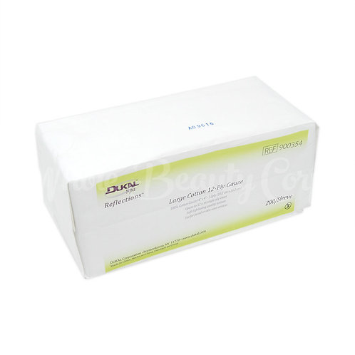 Facial Cotton Gauze Wipe,4x4,12 ply