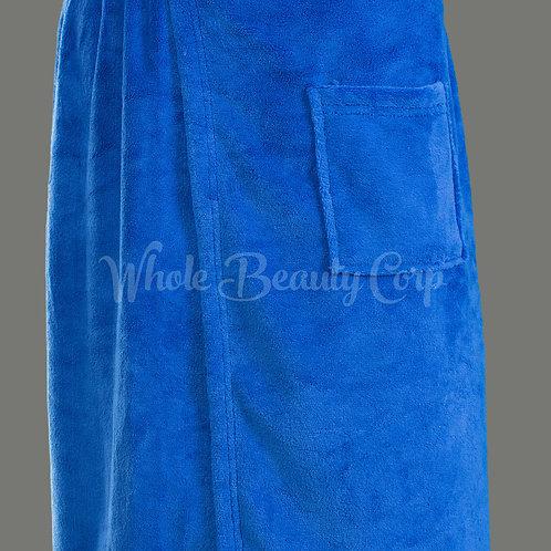 Men's Poly Fleece Spa Wrap w/Velcro