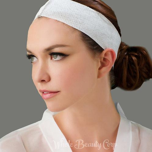 Non-woven Stretch Headband w/Velcro