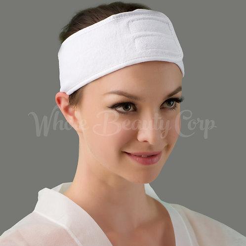 Stretch Terry Headband w / Velcro