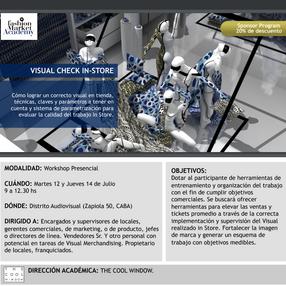 Visual Check In Store en el Distrito Audiovisual