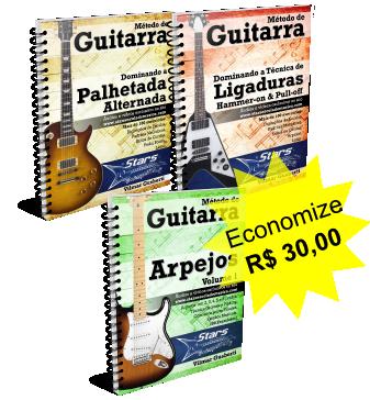 Pacote de Técnica para Guitarra [e-books + vídeos + grupo + suporte]
