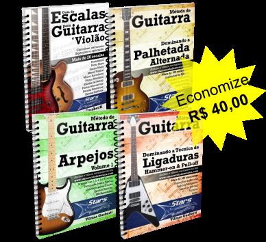 Pacote de Técnica + Guia de Escalas [e-books + vídeos + grupo + suporte]