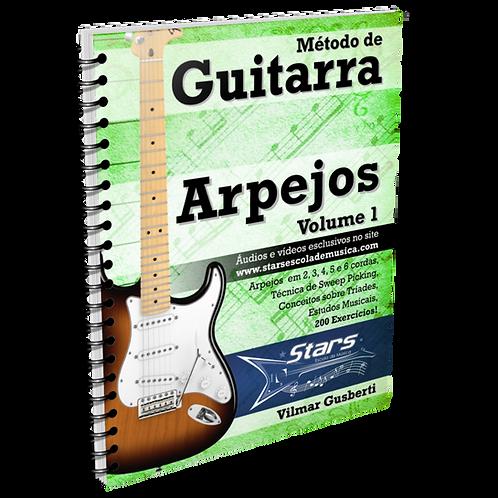 Método de Guitarra - Arpejos - Vol. 1 [e-book + vídeos]
