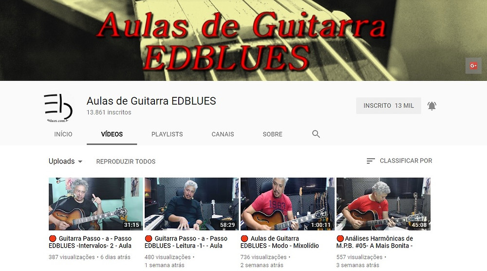 Aulas de Guitarra EdBlues