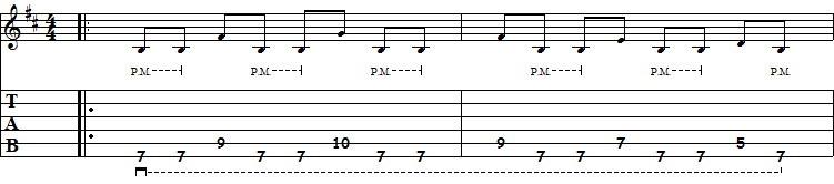 guitarra ritmica heavy metal