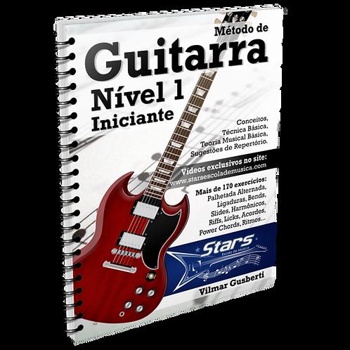 Método de Guitarra - Nível 1 - Iniciante [e-book + vídeos]