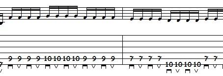 Guitarra Rítmica Heavy Metal - Parte 4