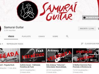 Canais que eu recomendo para você estudar Guitarra