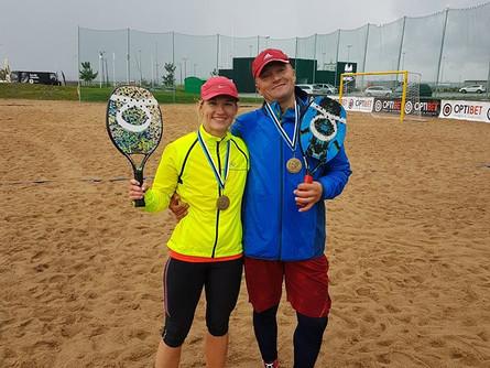 Spordiklubi Beach Tennis Tartu mängijad edukad EMV