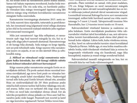 Beach Tennis Tartu treener Eneli avaldas oma mõtted rannatennise kohta