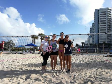 Beach Tennis Tartu mängijad Miamis