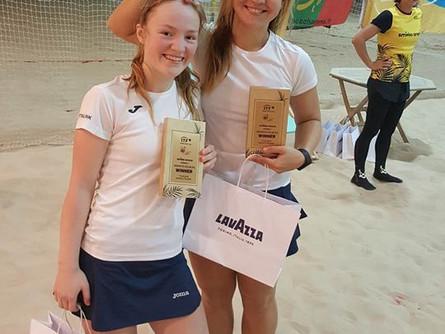 2x ITF turniirivõitu Vilniuses + lohutusturniirivõit