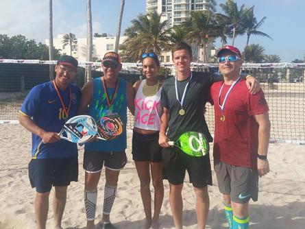 SK Beach Tennis Tartu sünnipäev Miamis
