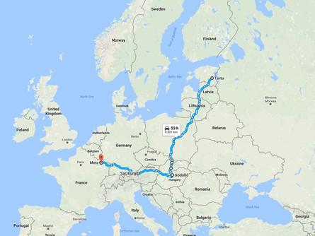 BTPlased võistlemas Ungaris ja Prantsusmaal