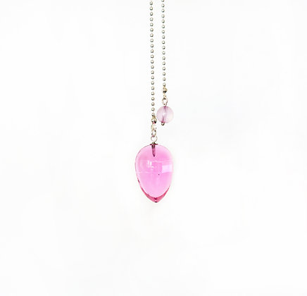 Upside Down Drop Pendulum in Pink