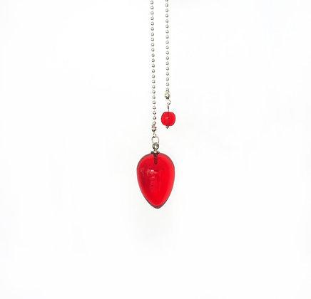 Upside Down Drop Pendulum in Red