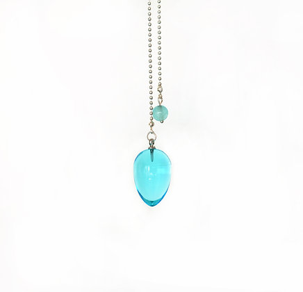 Upside Down Drop Pendulum in Aqua