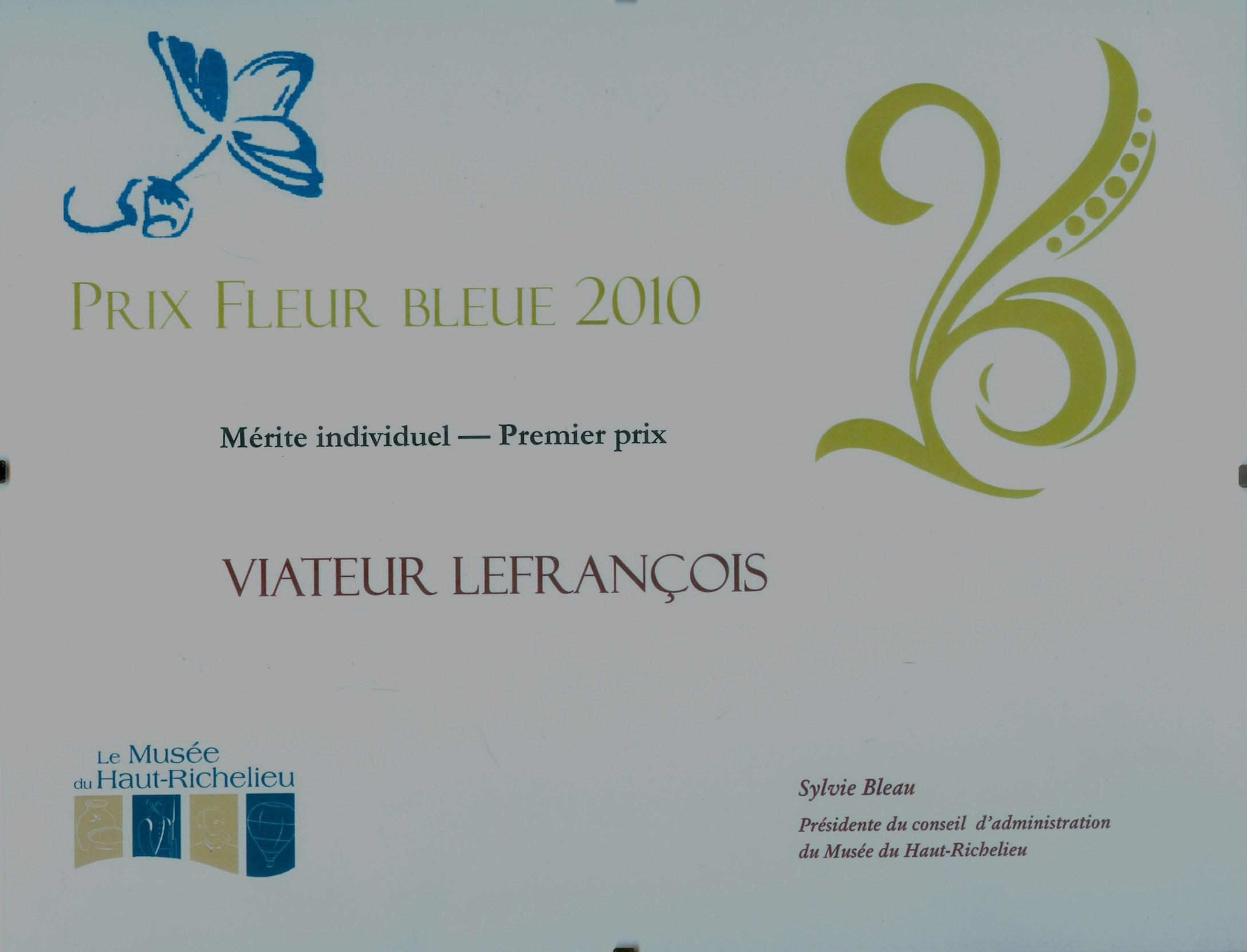 Prix Fleur bleue