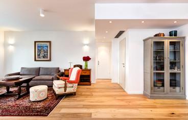 """דירת מגורים - צפון תל אביב   שטח: 140 מ""""ר + 20 מ״ר מרפסת   תכנון ועיצוב פנים והלבשת הבית"""