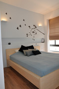 """דירת מגורים - צפון תל אביב   שטח: 135 מ""""ר   תכנון, עיצוב פנים והלבשת הבית (בשיתוף עם שירי רדושיצקי)"""