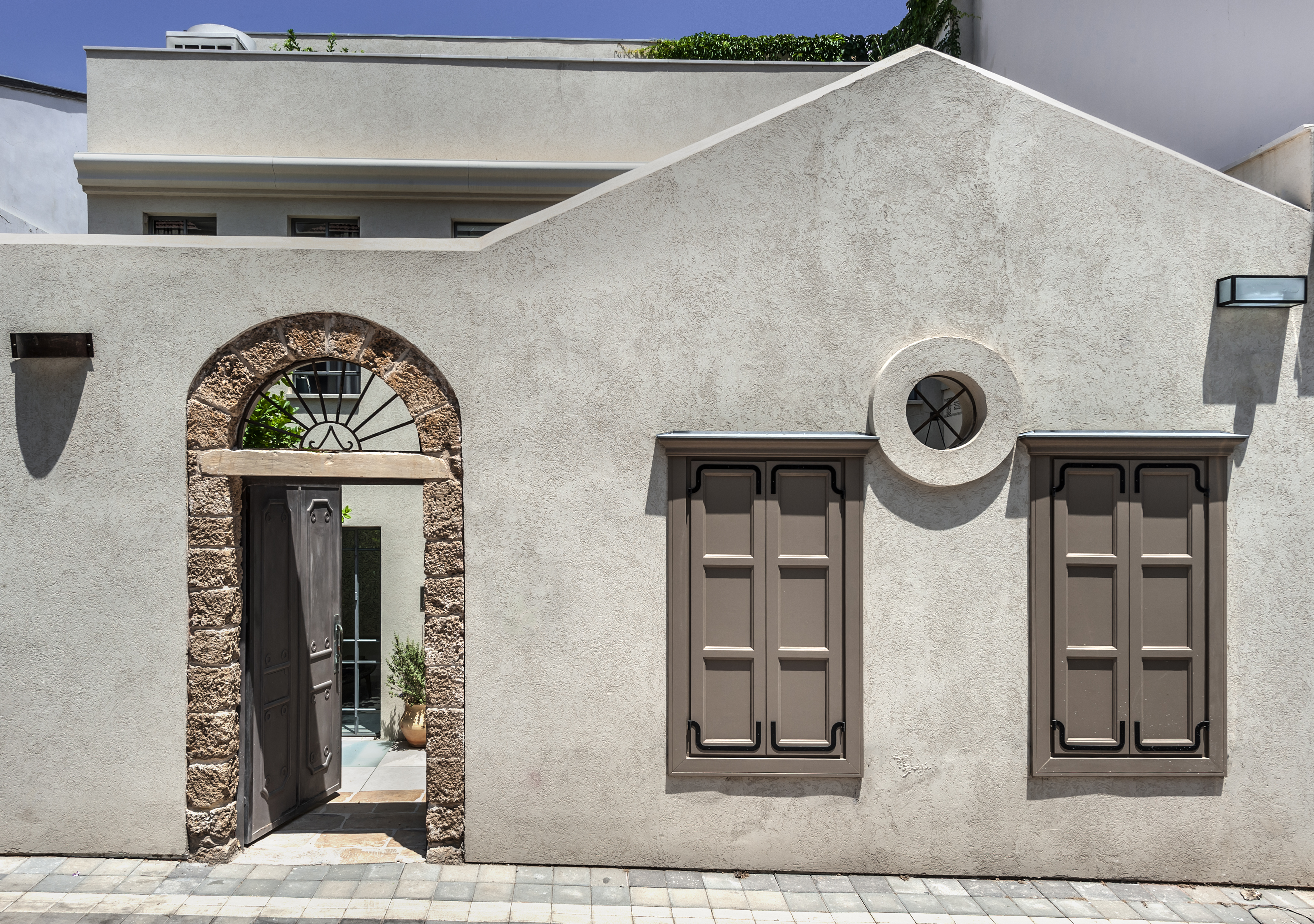 בתים פרטיים