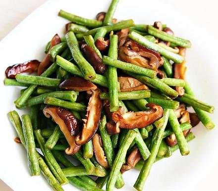 長豆炒香菇