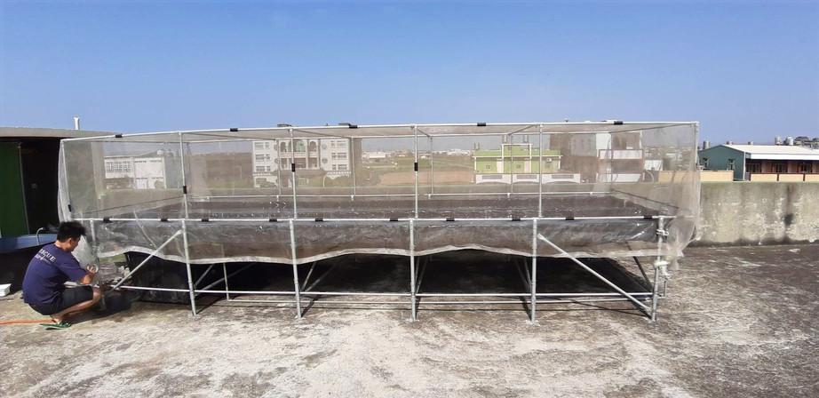 一般民宅閒置屋頂