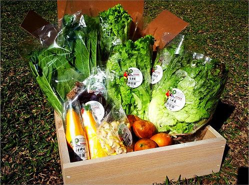 3日配蔬果箱(免運費)
