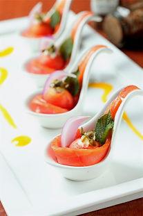 木瓜燻鮭魚捲