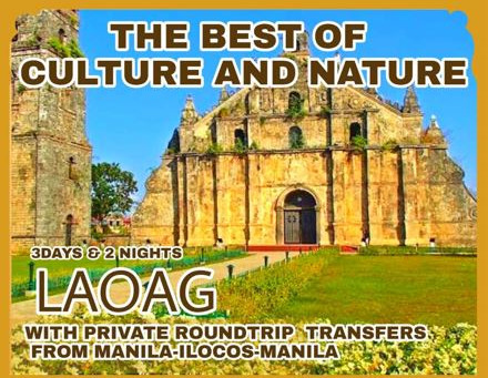 3 Days and 2 Nights Laoag Package.