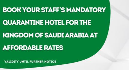 Kingdom of Saudi Arabia Quarantine Package.