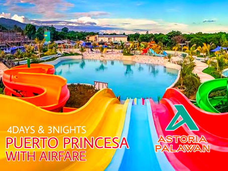 4 Days and 3 Nights Puerto Princesa, Palawan Package.