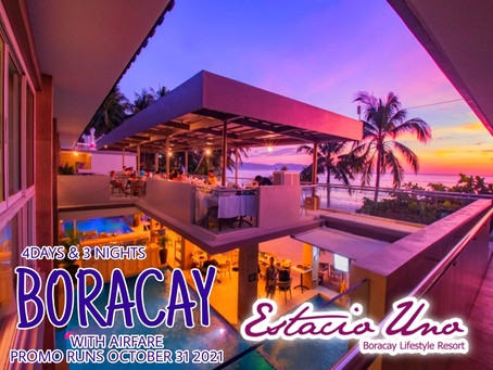 4 Days and 3 Nights Boracay Package.