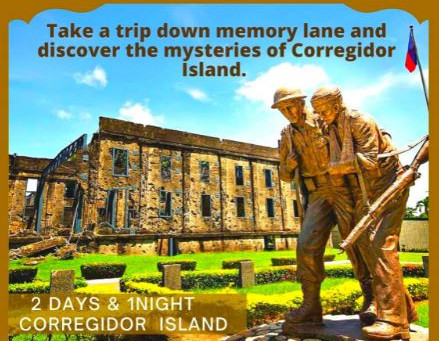 2 Days and 1 Night Corregidor Island Package.