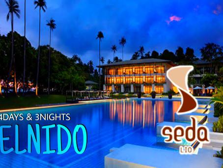 4 Days and 3 Nights El Nido Package.