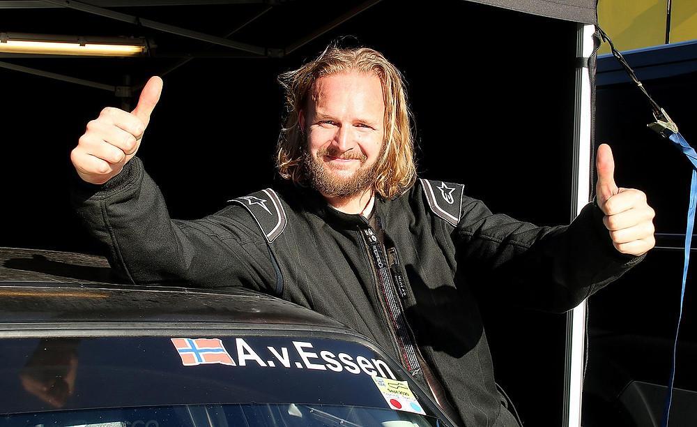 Anders V. Essen var også veldig godt fornøyd med helgen. Han var raskest i kvalifiseringen i dag, og fikk med seg tre pallplasser.